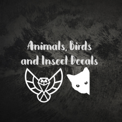 Animal, Bird and Insect Decals