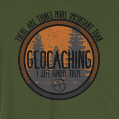 More important than Geocaching???