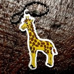 Raffie the Giraffe Travel Tag
