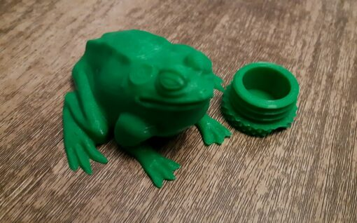 3D Printed Bullfrog Geocache